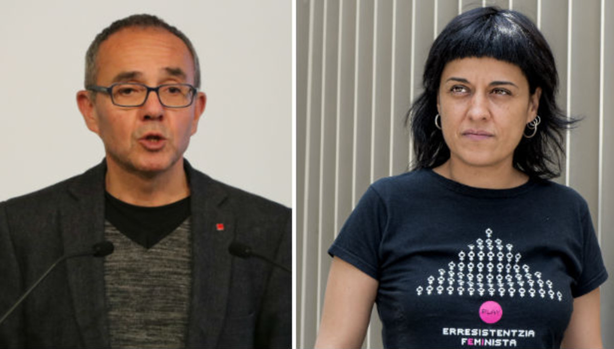 Tenso incidente entre Gabriel y Coscubiela por el cerco a la sede del PP