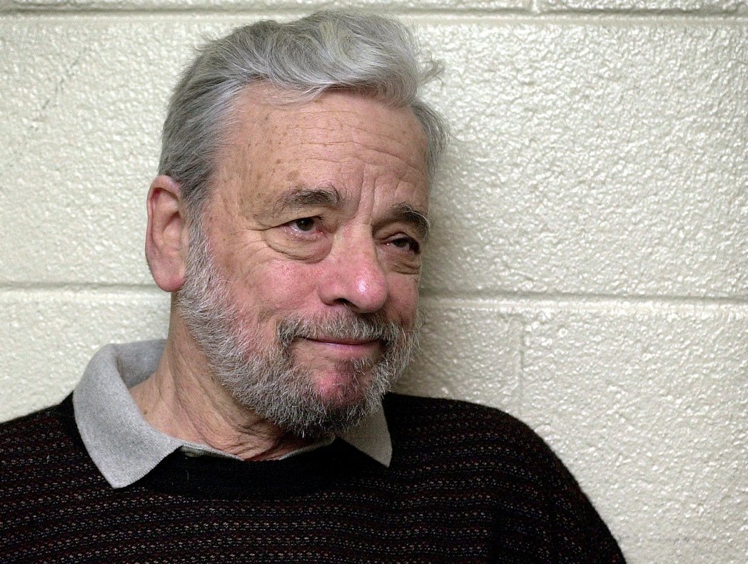 ** TO GO WITH THE STORY SLUGGED ARTS US SONDHEIM FESTIVAL ** Composer Stephen Sondheim appears at the Kennedy Center in Washington April 9, 2002, where he was attending a rehearsal for a revival of his musical Sweeney Todd. The show is the opening attraction in a summer-long festival of six Sondheim musicals at the center. (AP Photo/Kenneth Lambert)