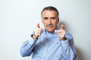 Juan y Medio, el presentador de Poder Canijo, en TVE.