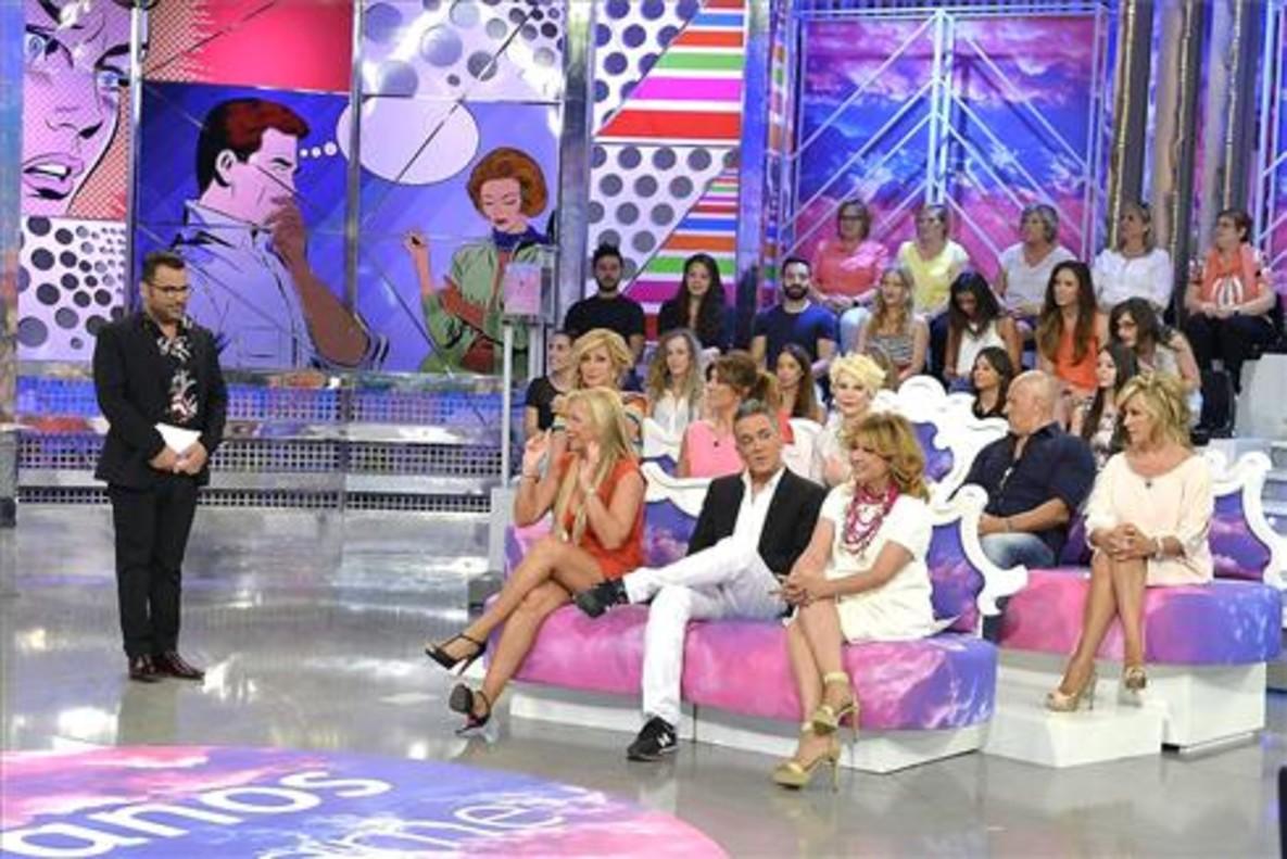 Imagen del programa de Tele 5Sálvame, con Jorge Javier Vázquez como presentador.