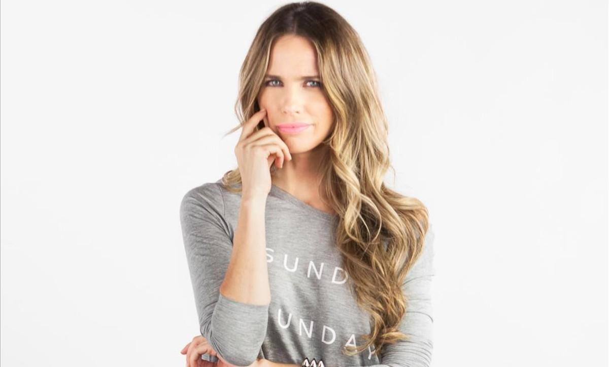La actriz Vanesa Romero, Raquel en la serie La que se avecina (Tele 5).