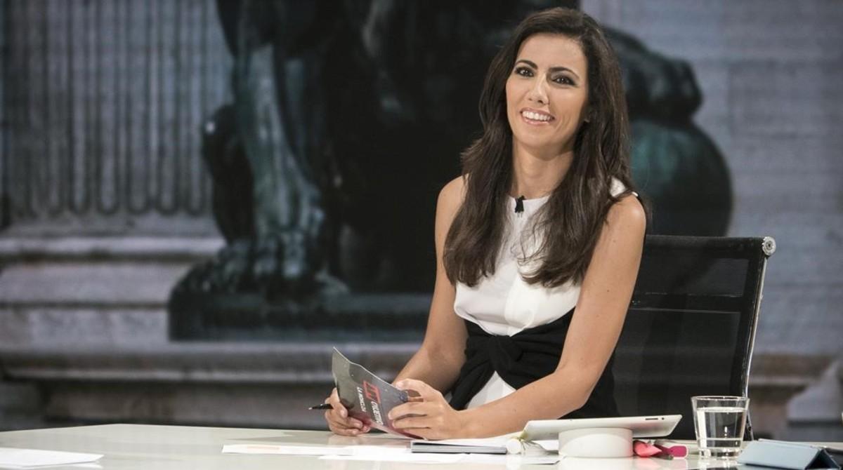 La periodista Ana Pastor, directora y presentadora del programa informativode La Sexta El objetivo.