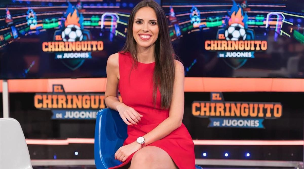 Sandra Díaz, nuevo fichaje de 'El chiringuito de jugones'.