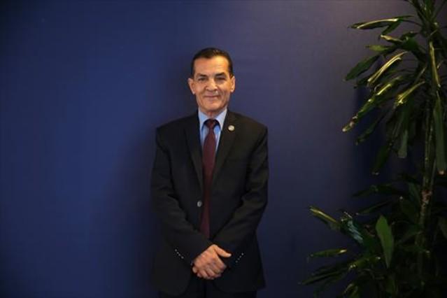 El presidente de la Universidad de Al Azhar, Abd El Hay Azab, en Barcelona.