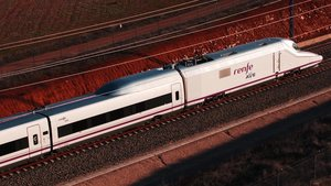 Un tren AVE de Renfe.