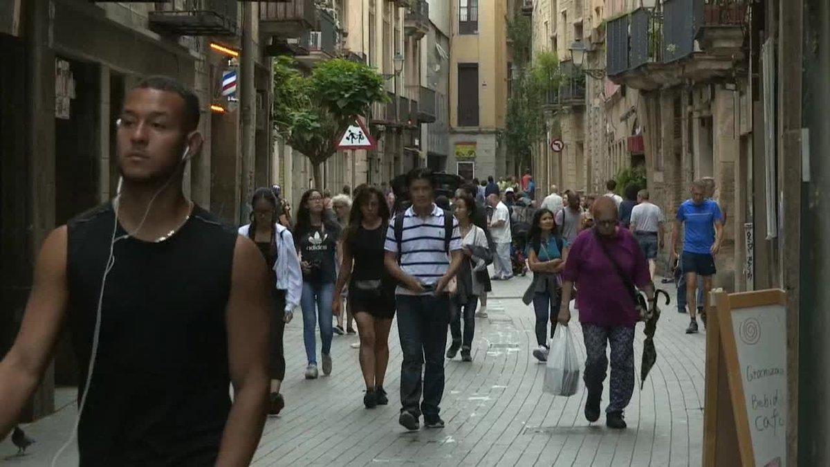 Una persona, al parecer un turista, ha resultado herida leve en el transcurso de un robo con violencia que se ha perpetrado en torno a la medianoche en la Via Laietana de Barcelona, en el distrito de Ciutat Vella.