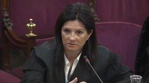 """L'advocada de l'Estat: «La violència no va ser part del pla dels acusats"""""""