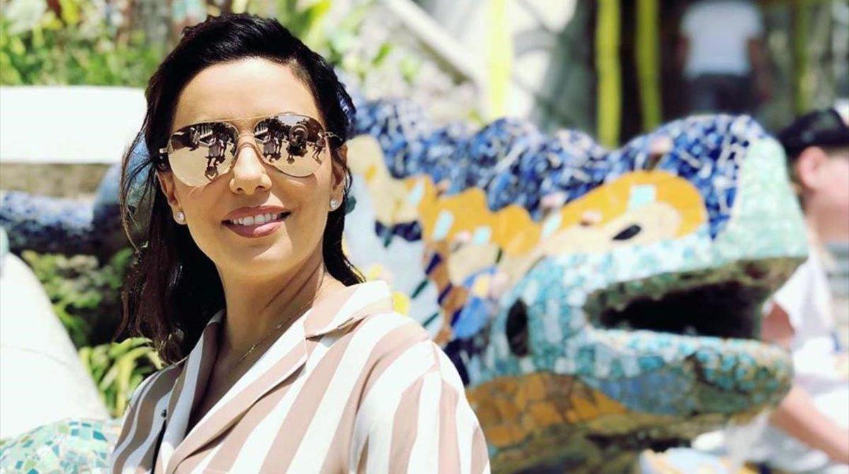 Eva Longoria, de vacances a Barcelona