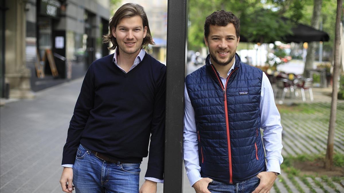 Valentin Stalf (izquierda), consejero delegado y Francisco Sierra, director general en España de N26.