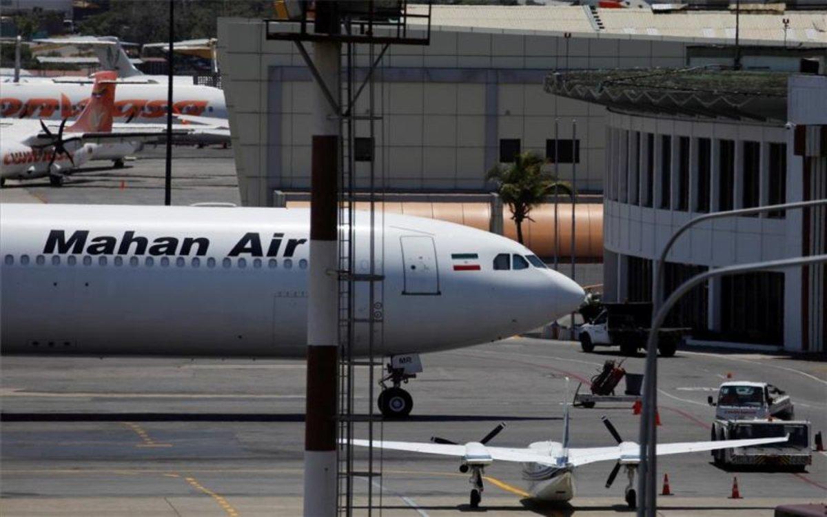Aviones en el aeropuerto de Caracas.