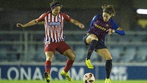Vicky Losada, en un partido de hace unas semanas ante el Atlético.