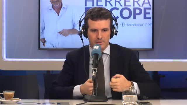 """Casado acusa Sánchez de """"vendre Espanya"""" tot i que els Pressupostos la trenquin"""