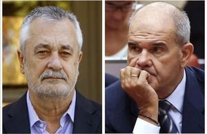 Chaves i Griñán arriben davant el jutge amb un cas dels ERO que perd fuelle