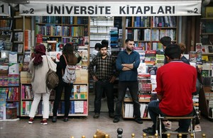 La biblioteca prohibida de Turquia