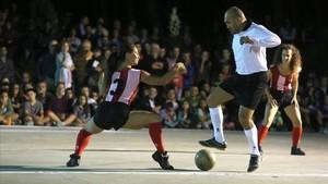 Una imagen del espectáculo La partida.