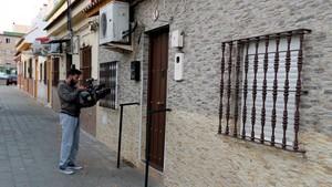 La vivienda de José Ángel Prenda, uno de los integrantes de La manada, en Sevilla.