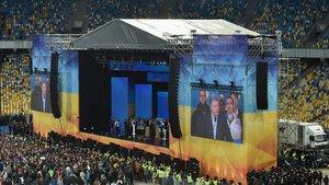 ¿Debat electoral o combat de boxa a Ucraïna?