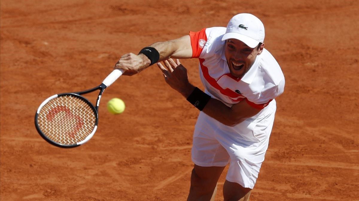Bautista cau i deixa només Nadal a Roland Garros