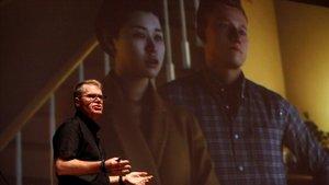 El cofundador de Fxguide, Mike Seymour, en su intervención en Mundos Digitales.