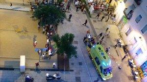 Muere un hombre apuñalado tras una pelea en el Raval de Barcelona