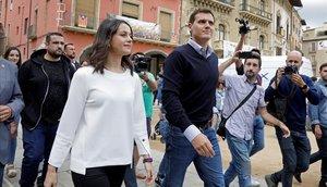 Rivera demana intervenir els Mossos i planteja plus per a la Policia i la Guàrdia Civil a Catalunya
