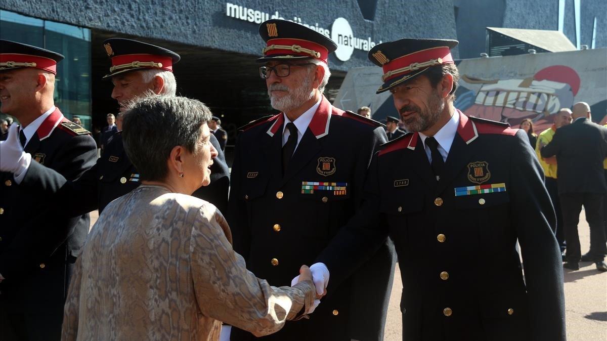 Cimera de comandaments policials a Barcelona per coordinar el dispositiu postsentència