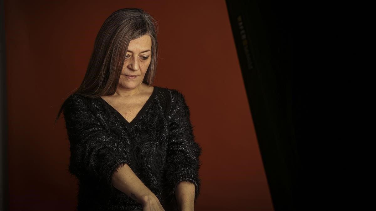 La escritora Olga Merino.