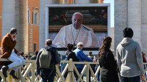Coronavirus: El Papa retransmite el ángelus por 'streaming'