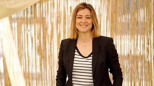 La presentadora televisiva catalana Sandra Barneda.