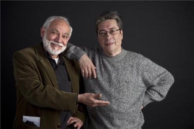 Jan y Efepé, autores del cómic Superlópez.
