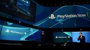 El president de Sony Computer Entertainment America, Shawn Layden, a la roda de premsa de Play Station, a Los Angeles.