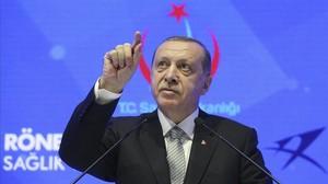 El presidente turco, Recep Tayyip Erdogan.