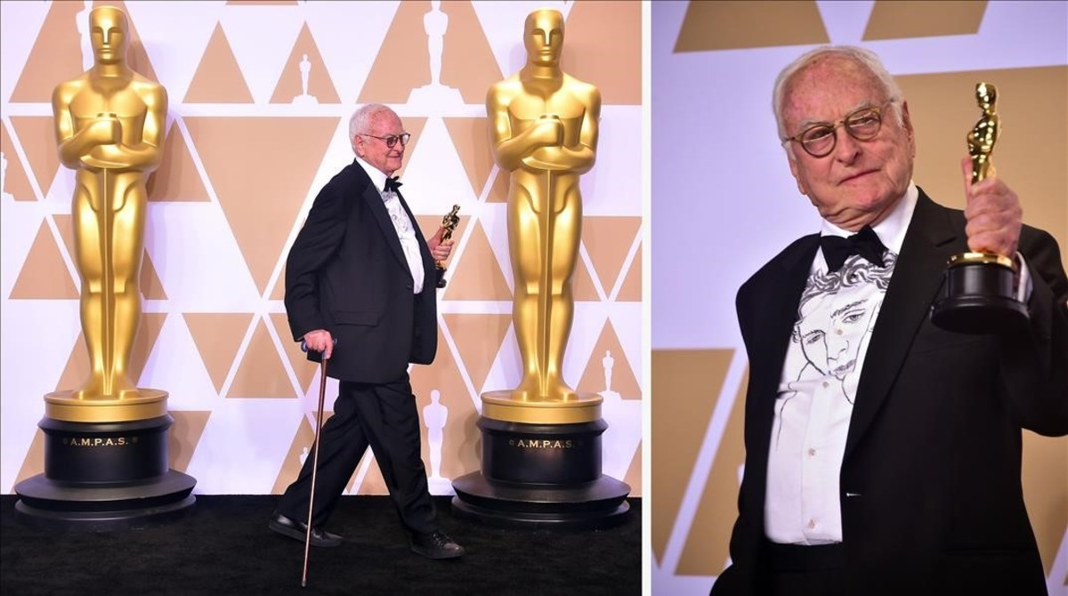 jjubierre42411564 writer james ivory poses in the press room with the oscar fo180305114244