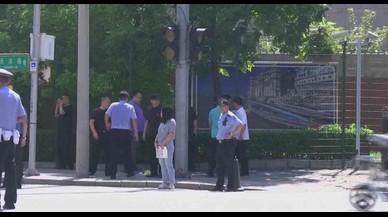 Explosión ante la embajada de EEUU en Pekín