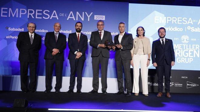 La empresa catalana se reúne en torno a los premios de EL PERIÓDICO