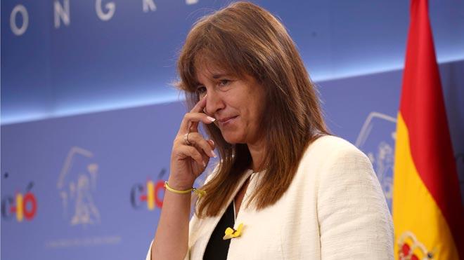 Borràs suggereix al Rei que actuï com a «àrbitre» a Catalunya