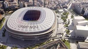 Les obres de l'Espai Barça començaran el 2019 i costaran 125 milions, que pagarà el club