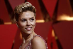 La actriz Scarlett Johansson, en la pasada ceremonia de los Oscar.