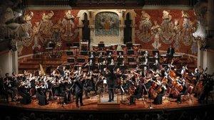 Actuación de la Orquestra Camera Musicae en el Palau de la Música