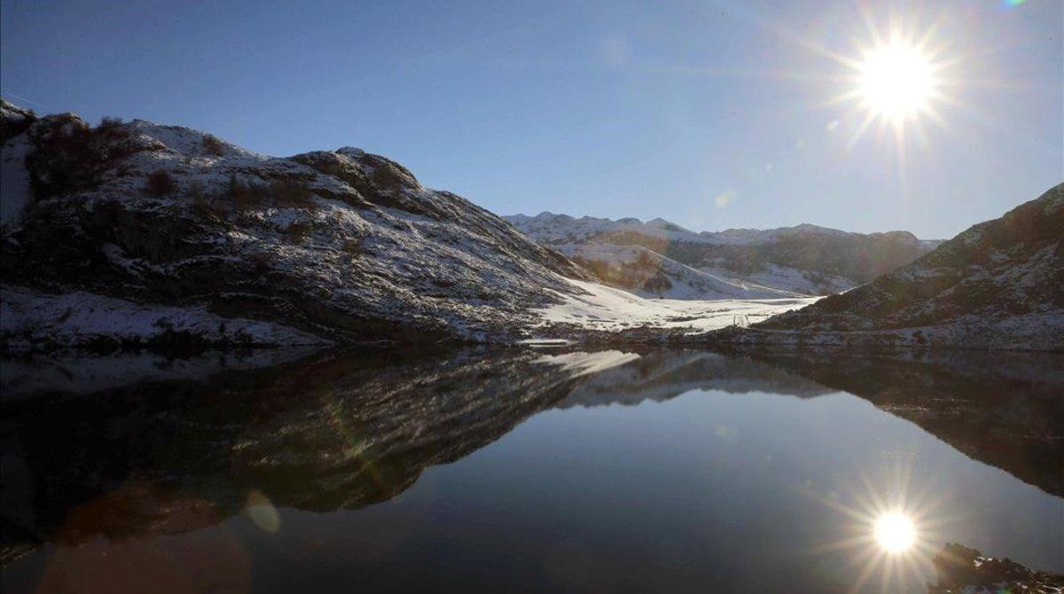 Una imagen de un paraje de los Picos de Europa.