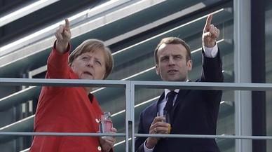 Las razones del 'nein' de Merkel a Macron
