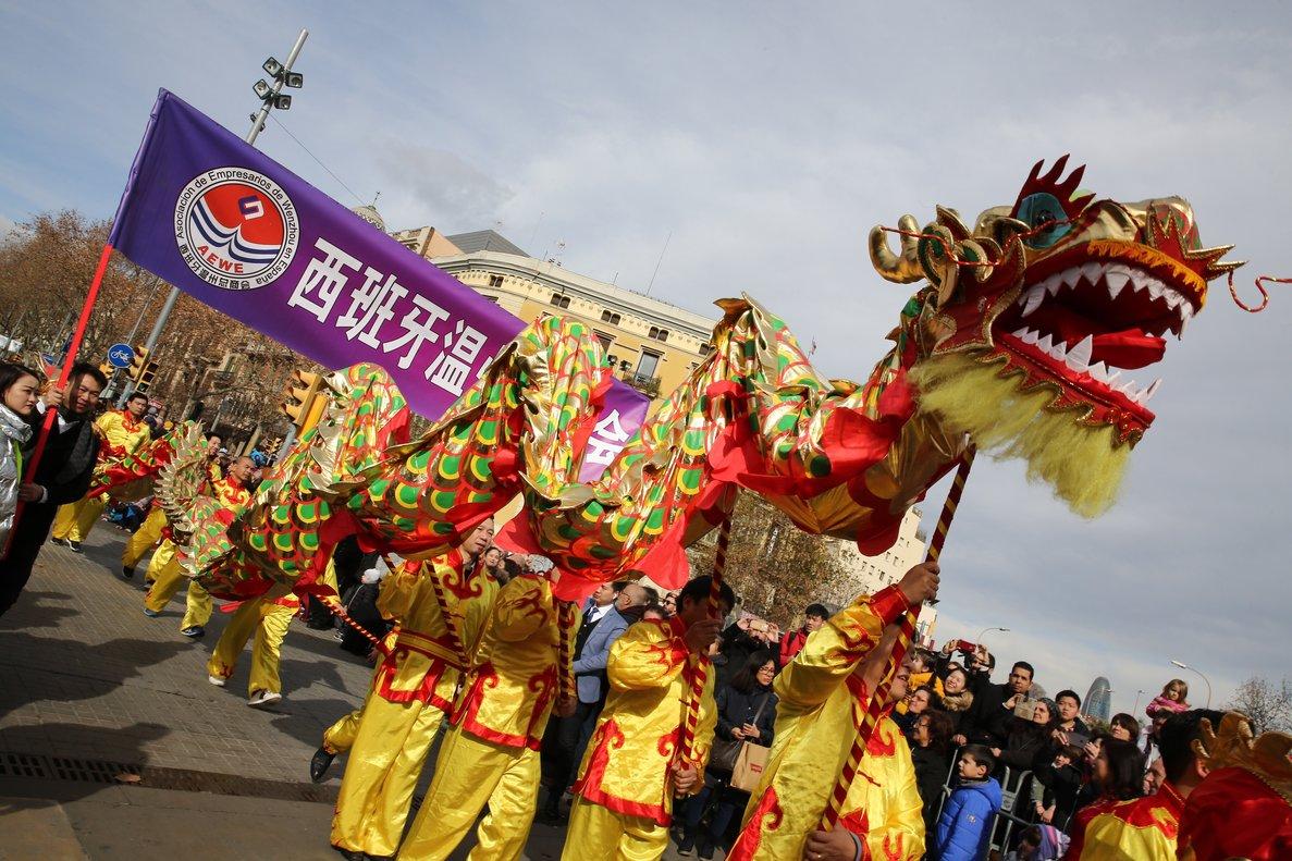 Desfile del Año Nuevo Chino.