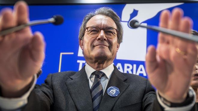 Artur Mas condemnat a dos anys d'inhabilitació, com a autor responsable del 9-N.