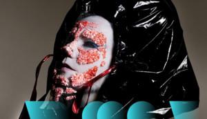 Björk, en una imagen promocional de la exposición Björk digital.