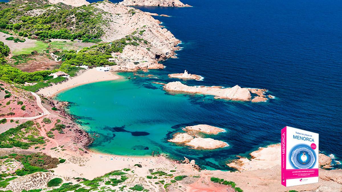 Cala Pregonda, en Menorca.