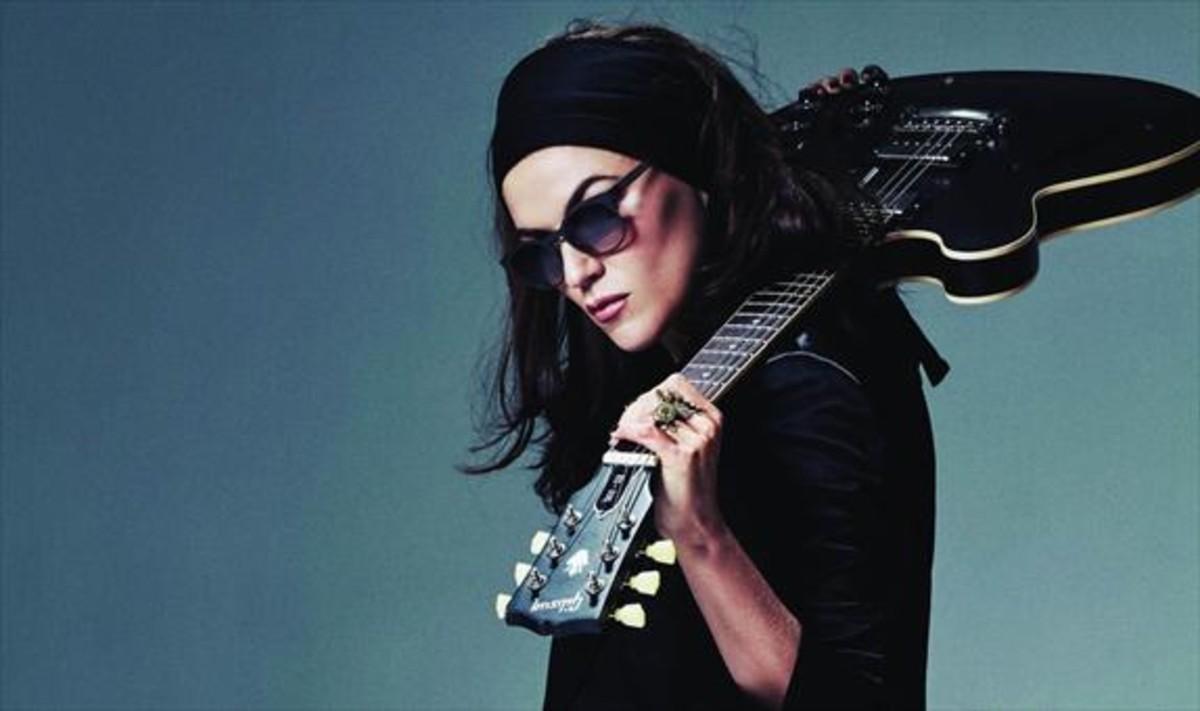 La cantante y compositora Melody Gardot, en una foto promocional.