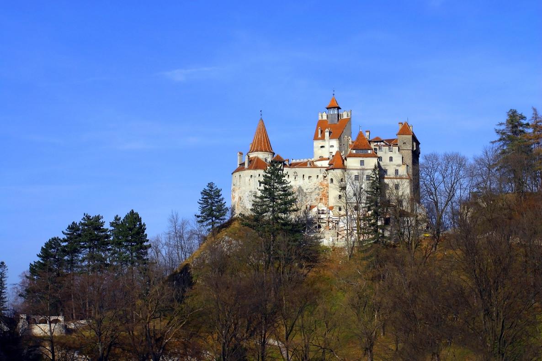 El castillo de Bran, situado en el centro de Rumanía, en una imagen de archivo.