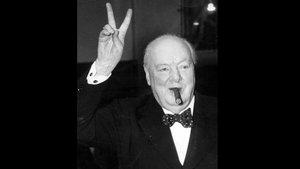 El 'premier' británico Winston Churchill.