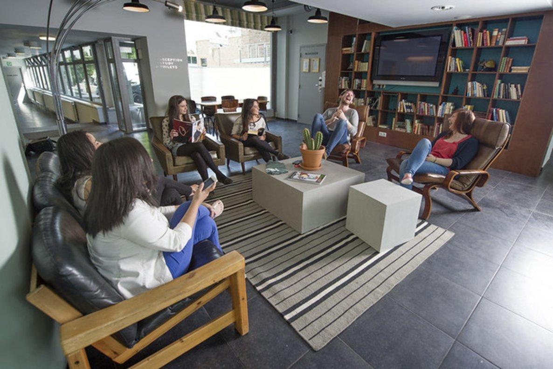 Imagen de una de las zonas comunes de The Studente Hotel