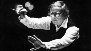 El compositor, director y pianista André Previn, en 1984
